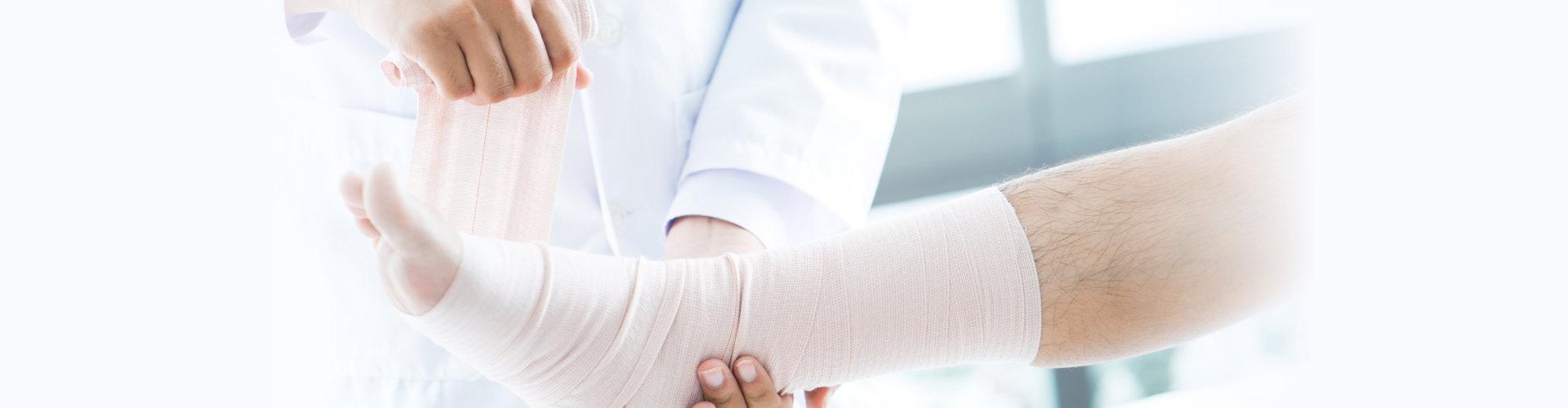 injured foot treatment
